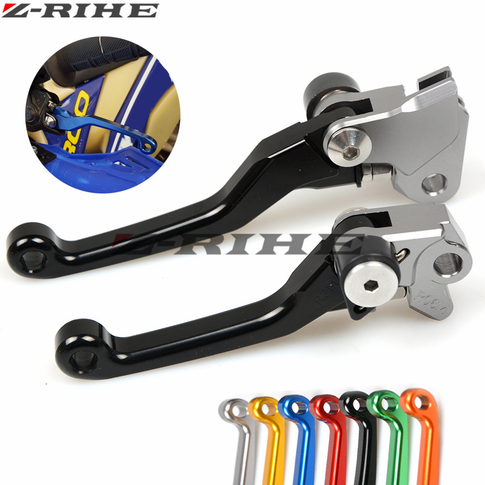 CNC Dirt Bike Clutch Brake For Suzuki RMZ 450 RMZ 250 07-16 Motocross Off Road Pivot Racing Motorcycle CNC Brake Clutch Levers cnc pivot brake clutch levers for honda crf250r crf450r 07 15 crf motocross enduro supermoto dirt bike racing offroad motorcycle