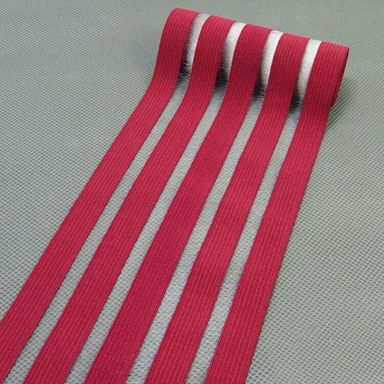 2 метра 9 см модные эластичные ленты кружева ленты пояс ремни резинка DIY девушка платье брюки юбка аксессуары для одежды - Цвет: winered