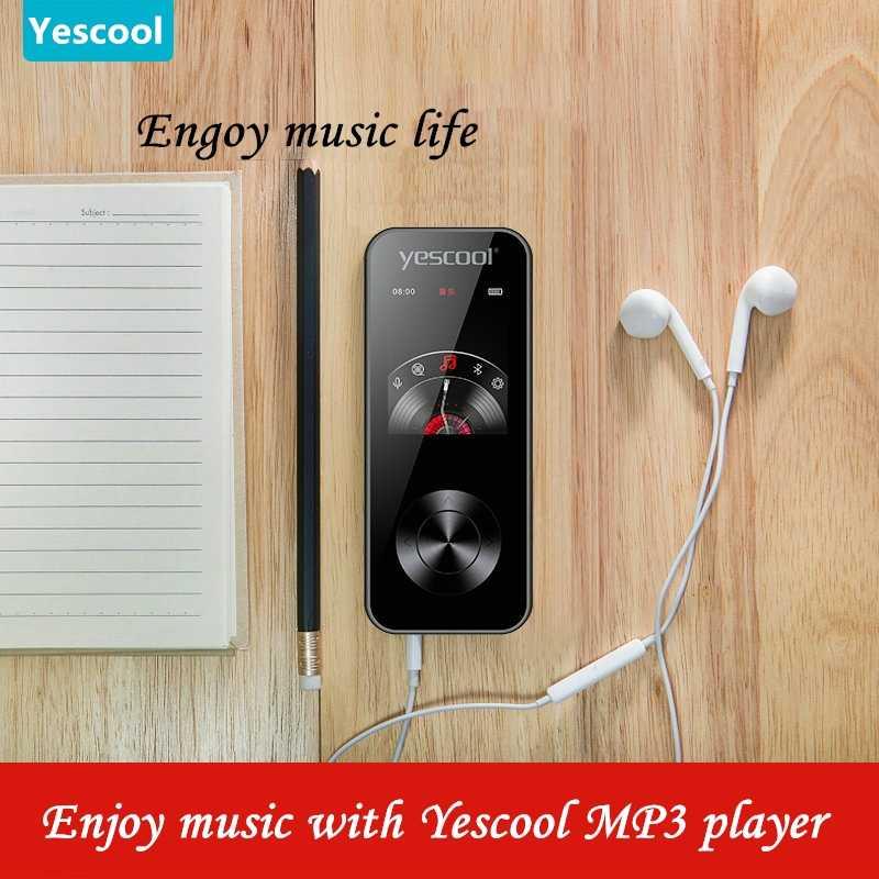 Es-difunde de deporte sin pérdidas MP3 jugador portátil walkman mini USB construido-en el altavoz de Radio FM e-book reloj HIFI reproductor de música SD 8G