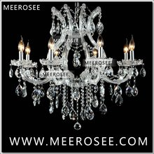 Hot selling Maria Theresa Clear White Crystal Chandelier Lighting Luster Cristal Pendelleuchte Light Fixture top quality