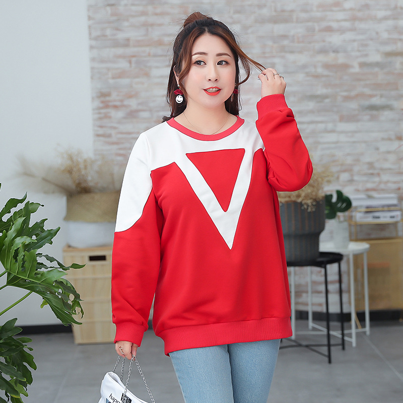 2018 autumn new large size women 39 s casual wear big size loose big size blouse in Jackets from Women 39 s Clothing