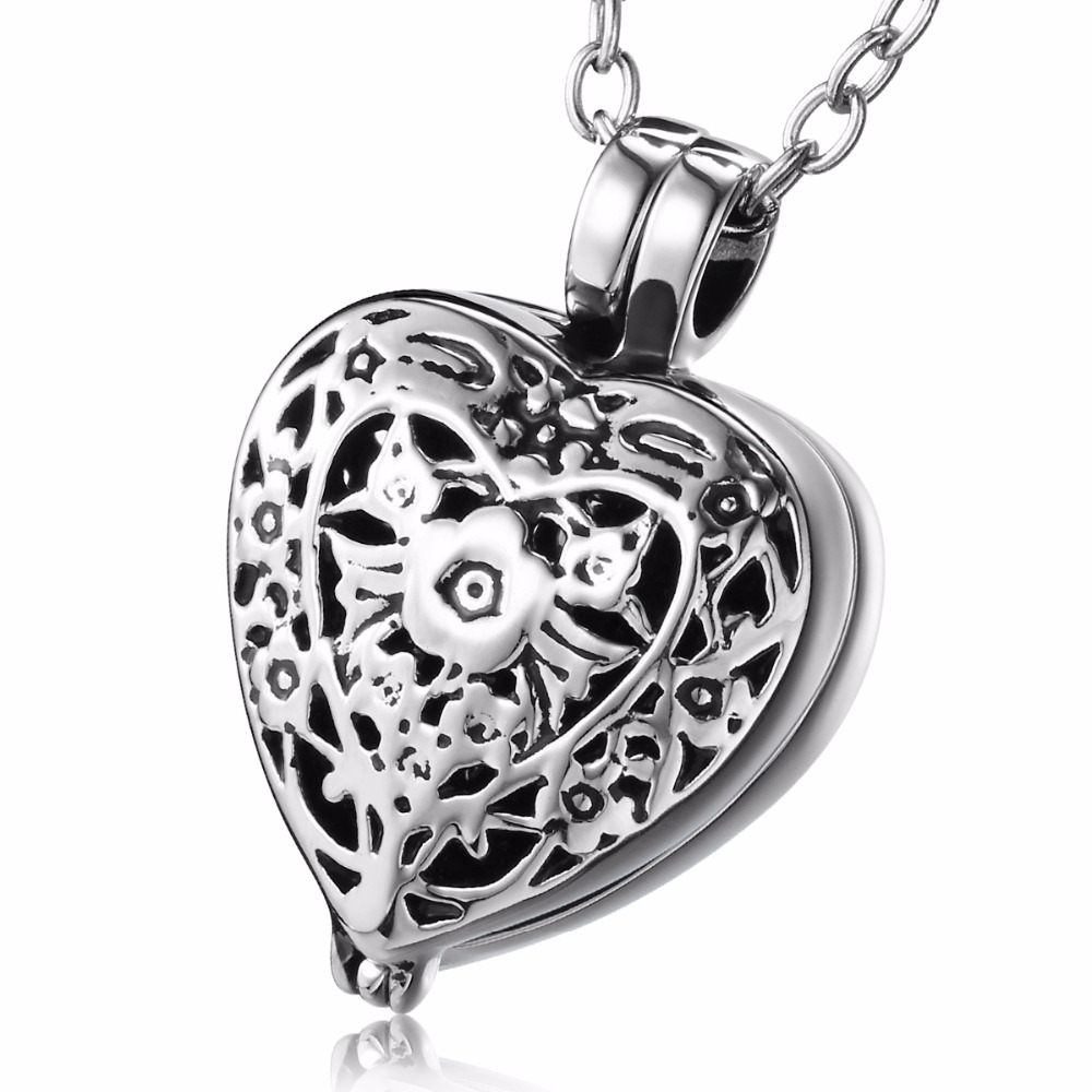 over jewelry orders shipping pendant wheat polish stainless elya product high teardrop locket steel floral watches lockets free metal open overstock on inch chain necklace