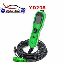 2017 yd208 yantek Мощность сканирования Электрический метр проверить цепи сбой для автомобильной тестером Мощность сканирования YD 208 Быстрая доставка