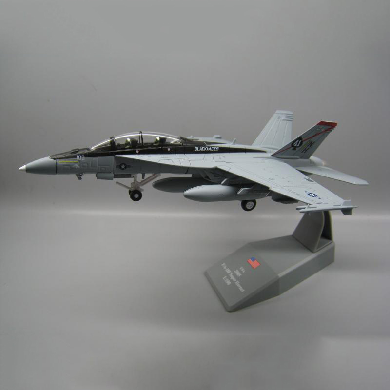1/100 Scale USA Hornet F 18 F/A 18 Boeing Military Missile bomber Model Toy Fighter Army Air Force Diecast Metal Plane Model Toy