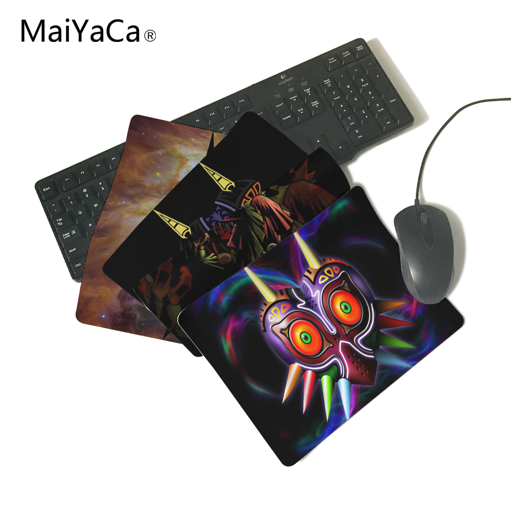MAJORAS MASK THE LEGEND OF ZELDA Mouse Pad Rubber Non-Skid Mouse Pad