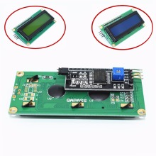 TENSTAR ROBOT LCD1602+I2C LCD 1602 module Blue/Green screen PCF8574 IIC/I2C LCD1602 Adapter plate(China)