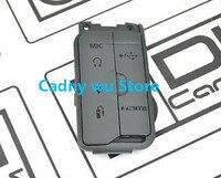 캐논 7d2 7dii 수리 부품에 대한 usb 고무 커버 인터페이스 캡 교체