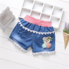 NEW  Summer fashion children denim shorts sand kids for girls casual jeans KD01