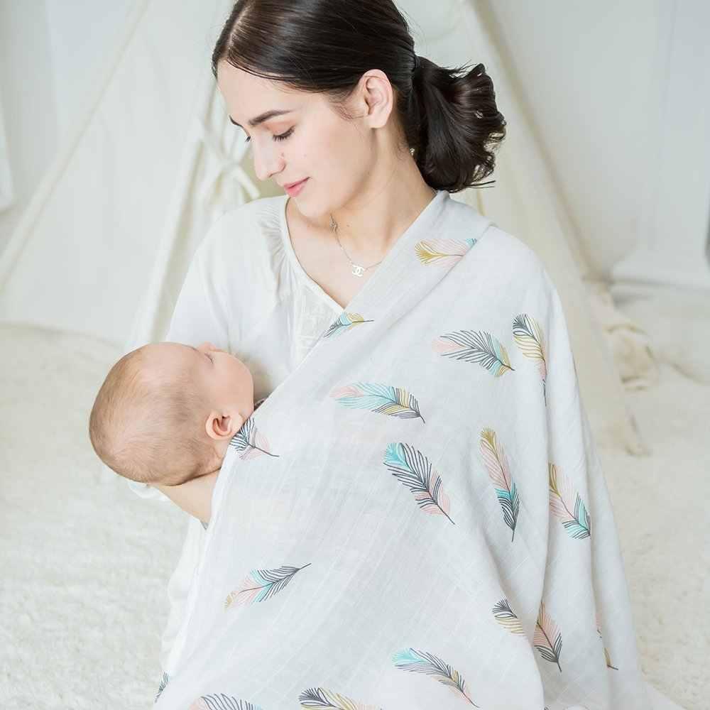 Муслиновая пеленка для новорожденных Пеленание Одеяло детский плед для фотографирования Единорог детское одеяло Мантас де Bebes девочки чехол для коляски коврик