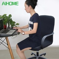 コンピュータ椅子カバーl/m/s取り外し可能なストレッチスイベルオフィスcadeira sandalyeコンピュータ椅子カバーオフィスアームチェアシートのslipcovers
