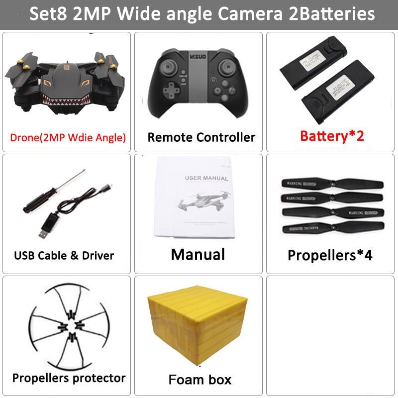 VISUO XS809S Foldable Selfie Drone