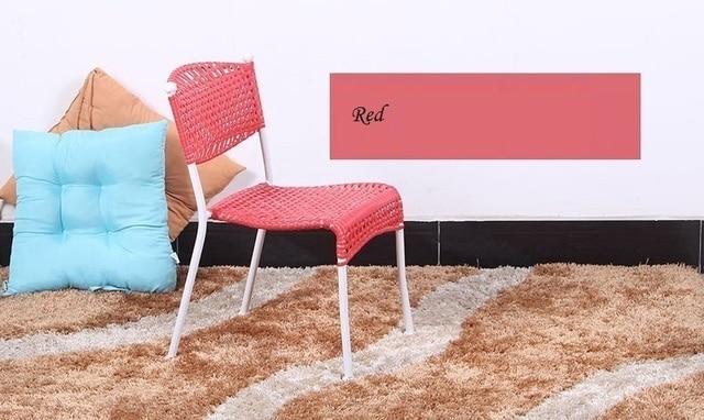 Giardino giocattolo sedia rattan del pe a casa seduta sgabello bar