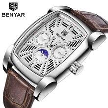 BENYAR Military Sports men watches 2019 best luxury brand man chronogr