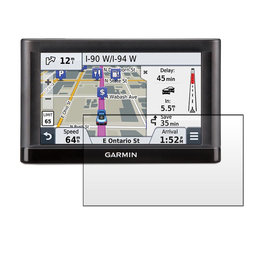 Garmin Nuvi 55 55LM 55LMT GPS üçün 3x Parlaq LCD Ekran Qoruyucu - Cib telefonu aksesuarları və hissələri - Fotoqrafiya 1