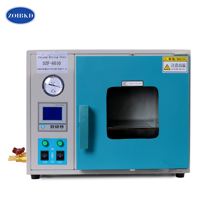 ZOIBKD DZF-6010 Stainless Steel Small Industrial Lab Drying Oven 0.28Cu Ft 8L Digital Degassing Drying Oven 5 c to 300 c electric heating blast drying oven with stainless steel liner and digital display