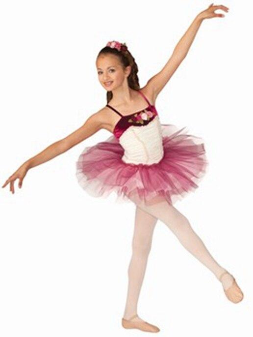 Gymnastique Justaucorps Pour Les Filles D origine Seule Nouvelle Femelle Ballet  De Danse Robe Tutu Costume Vêtements Et Des Spectacles Professionnels 17ef91758cb2