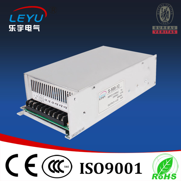 цена на 2016 LEYU switching power supply 500w CE RoHS approved S-500-15 high quality ac dc led driver