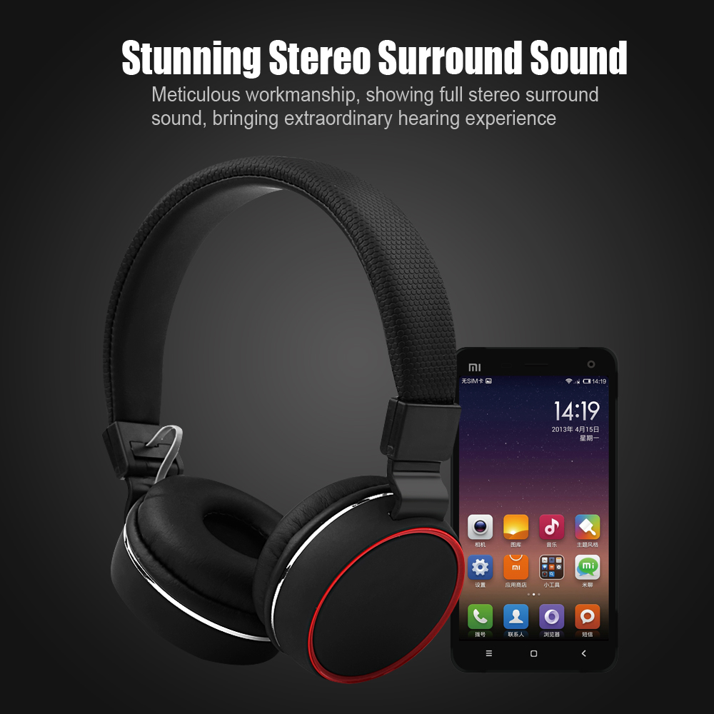 Hi-Fi Stereo Folding Headset Studio Bass Headphones Noise Cancelling with Microphone Earpods for PC Headphone Gamer Mobile mp3 high quality gaming headset with microphone stereo super bass headphones for gamer pc computer over head cool wire headphone