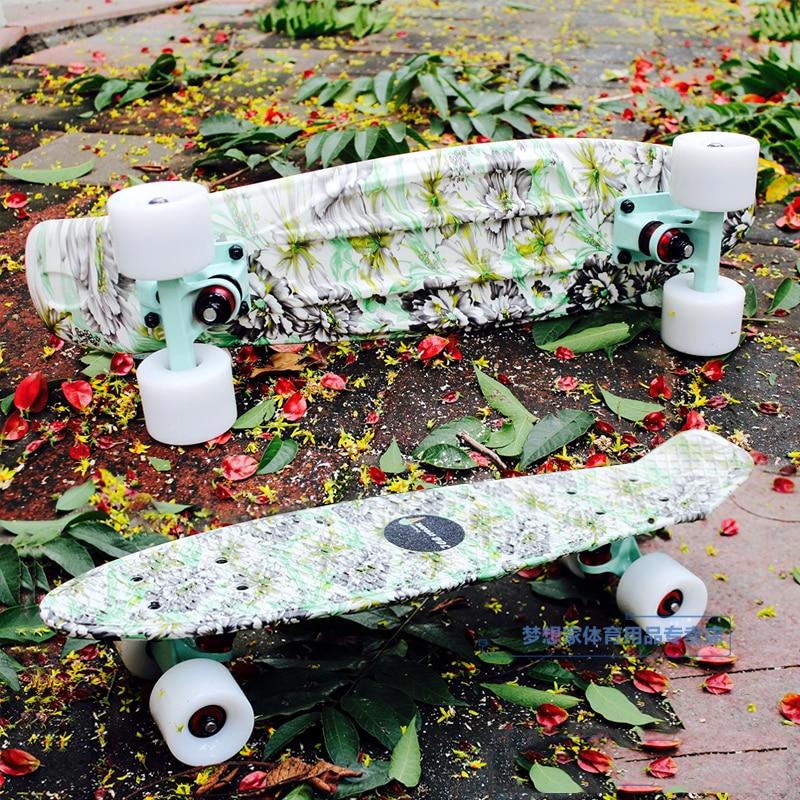 Free Shipping High quality peny board original Skate Board 22 Skateboard green board mini cruiser skateboards skate longboard скейтборд other ps001 free shipping 22 penny mini cruiser skateboard penny board
