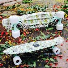 Livraison gratuite de haute qualité peny carte originale Skate conseil 22 » planche à roulettes vert conseil mini cruiser planches à roulettes Skate longboard