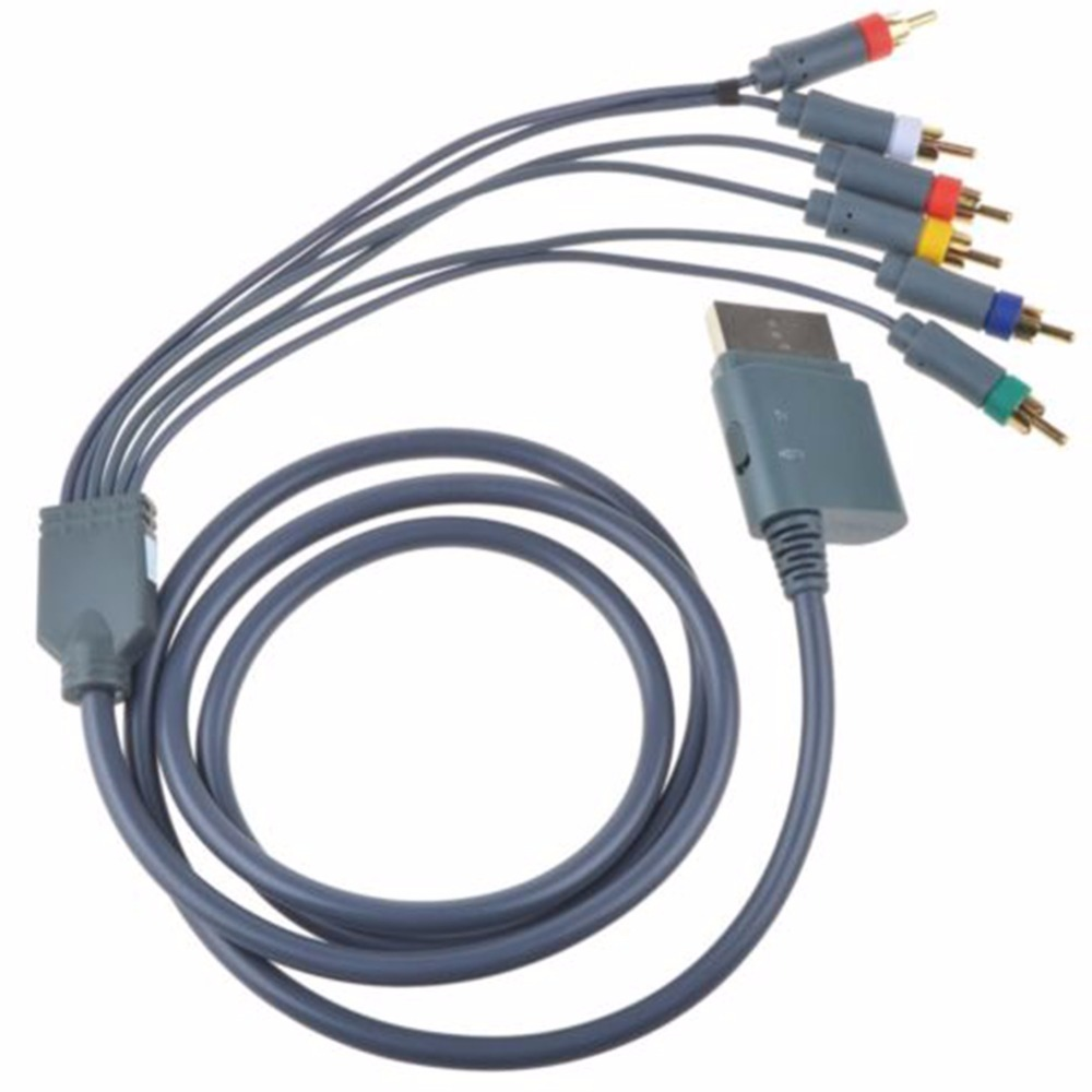 Game Machine Cables HD TV Component Composite Audio Video AV Cable ...