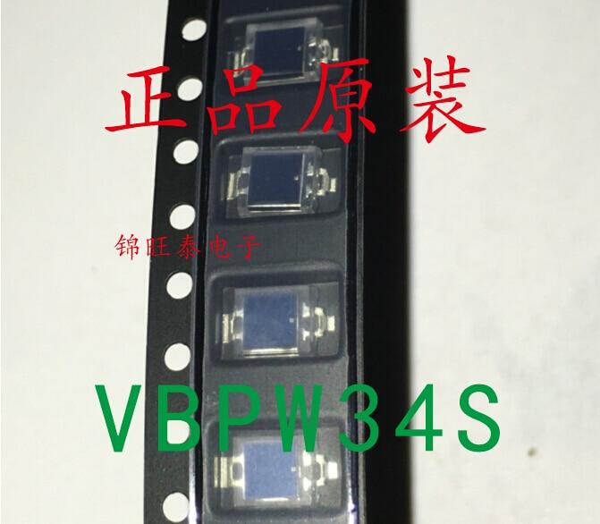 50PCS~500PCS/LOT  New Original  VBPW34S  BPW34S  SMD  Photodiodes