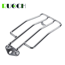 цена на For Harley Sportster Solo Seat Luggage Rack Shelf Support Accessories XL883 XL1200 883 1200 1985-2003