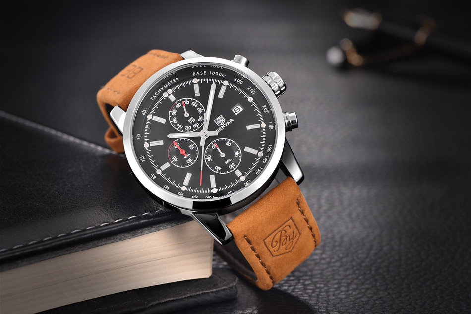 Watches Men Luxury Brand Quartz Watch Fashion