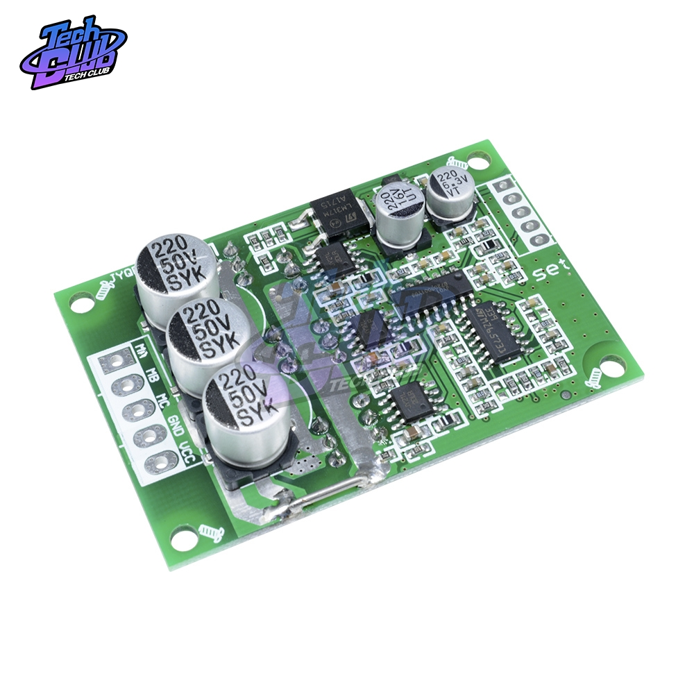 DC 12V-36V 500W Brushless Motor Controller 20A PWM Regulation Speed Motor JY01 Hall Driver Balance Car Driver Control Board