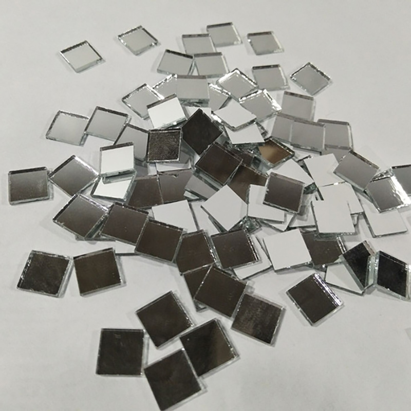 "LEMO 1/""X1//2/"" 200pcs Mirror Glass diamond shape Mosaic Tiles Kitchen Wall Decor"