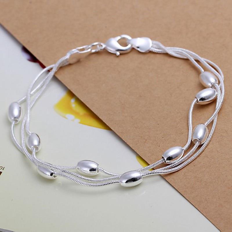 Designer Inspire 2 Tone 925 Sterling Silver Crossover 33mm Medium Hoop Earrings