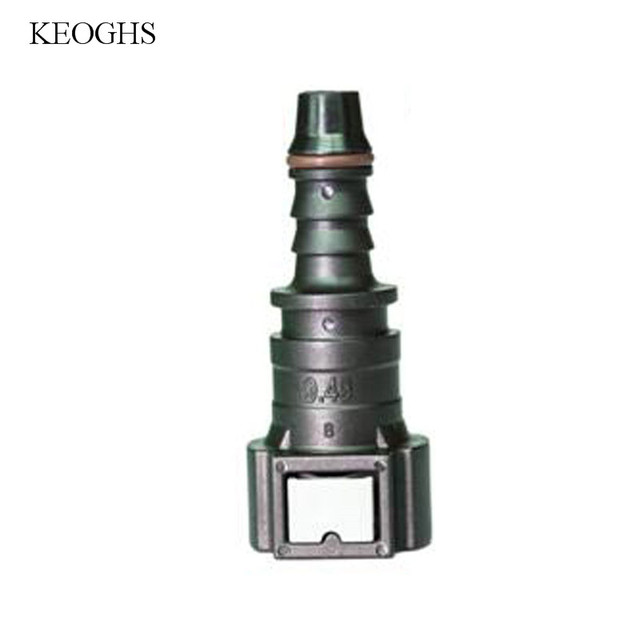 US $6 94 5% OFF|KCSZHXGS 9 49 ID8 fuel hose connectors automotive fuel hose  connector for 8 10mm fuel line quick connectors 1pc-in Fuel Intake
