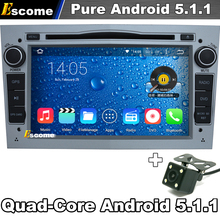 Pure Android 5.1 Car DVD Player For Opel Astra H Vectra Corsa GPS navigation system Wifi 3G Radio Rear View Camera