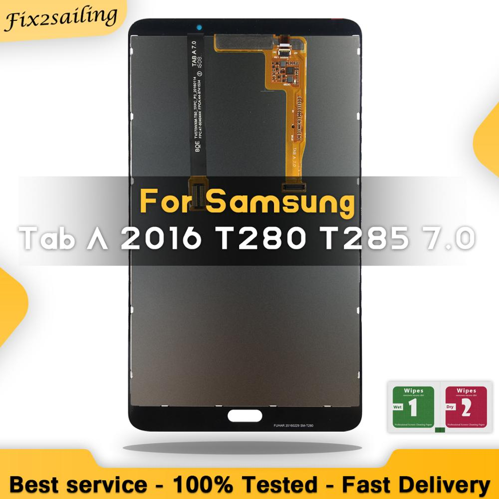 LCD Display For Samsung Galaxy Tab A 7.0 2016 SM-T280 SM-T285 T280 T285 LCD Touch Screen Digitizer Assembly Tablet Parts