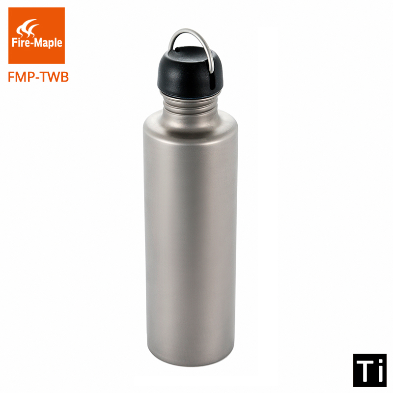 Fire Maple Titanium Water Bottle Kettle 700ML Outdoor Lightweight Portable Climbing Camping Trip Travel FMP-TWB fire maple sw28888 outdoor tactical motorcycling wild game abs helmet khaki