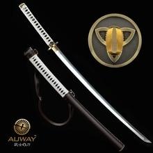 Japanese Samurai Walking Dead Sword Hand Forged Zombie Michonne's Sharp Katana Swords Real markus sesko encyclopedia of japanese swords paperback