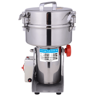 Commercial Stainless Steel Swing Type Herbs Grinder Small Superfine Powdering Machine
