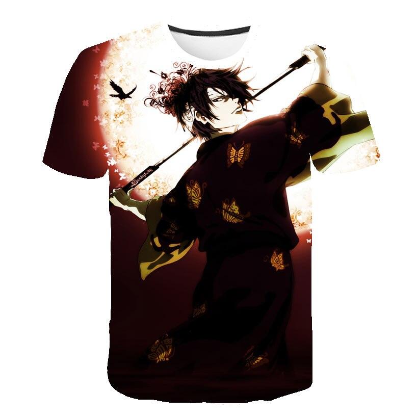 Man Crewneck Sakata Gintoki Gintama Anime T shirt Shirogane Tamashii hen Kouhan sen Streetwear Top Unisex Vintage S 6XL Camiseta in T Shirts from Men 39 s Clothing