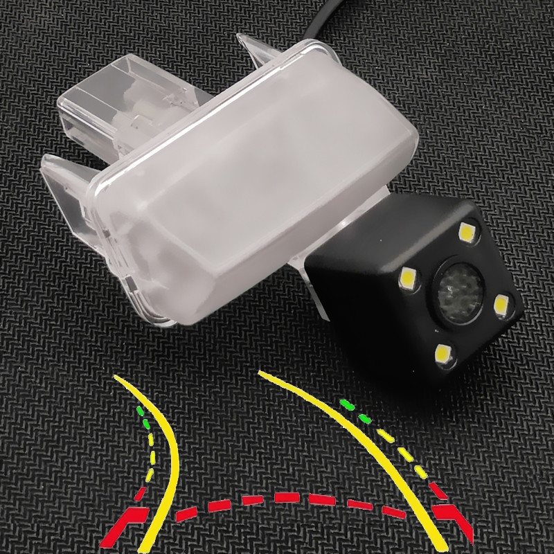 Intelligent Dynamic Trajectory Tracks Car Rear View Camera For Toyota Verso Yaris Camry XV50 Vios Corolla Fortuner Highlander