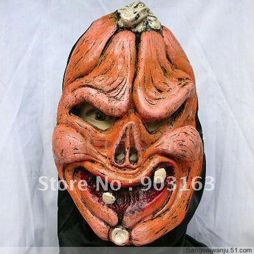 Wholesale 5Xpcs Halloween mask emulsion masks masquerade super mask - terror + free shipping