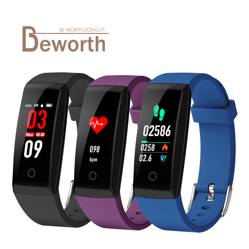 W8 Smart Band Heart Rate Monitor Fitness Tracker Pedometer Smart Bracelet Wristband for Android IOS Phone
