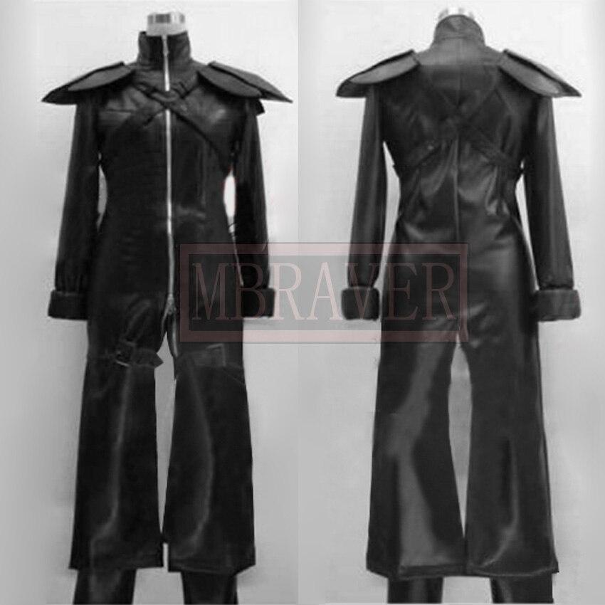 Final Fantasy VII 7 Kadaj cosplay costume PU leather Custom-made Any Size