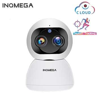 INQMEGA 1080P Dual-Lens Wireless Wifi Camera 2MP Cloud Auto Tracking IP Camera Indoor Home Security Surveillance CCTV Network Ca - DISCOUNT ITEM  48% OFF All Category
