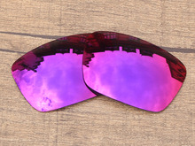 Midnight Sun Mirror Polarized Replacement Lenses For Fuel Cell Sunglasses Frame 100% UVA & UVB Protection