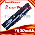 7800 mAh 9 CELDAS de batería portátil Para El 90-NX62B2000Y 9COAAS031219 A31-UL20 A32-UL20 Eee PC 1201HA 1201 1201N 1201 T UL20A UL20FT