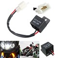 High Quality 12V Universal 2-Pin Electronic Flasher Relay FIX Motorcycle Turn Signal LED Lamp Hyper Flash For Honda For Yamaha