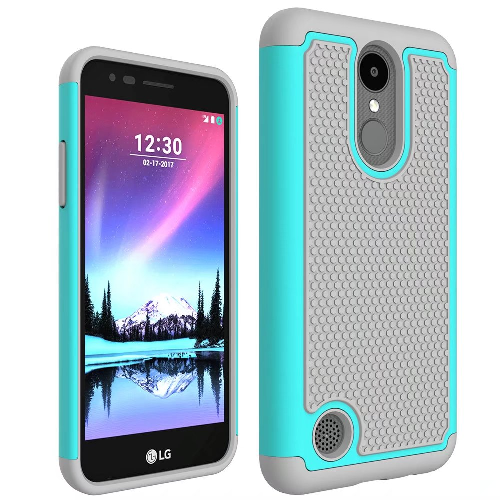 pretty nice 440d0 d54ed US $4.59 8% OFF|For LG K4 2017 Armor case ,Rugged Impact Hybrid heavy duty  phone Case LG K4 2017 phone cover cases-in Fitted Cases from Cellphones &  ...