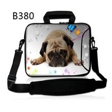 "Beautiful Canine 11 13 14 15 15.6 17 17.three"" inch Pocket book Laptop LaptopBag Case for Males Girls Briefcase Shoulder Messenger Bag"