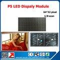 1 / 16 сканирования 64 * 32 пикселей 320 * 160 мм матричный из светодиодов панели P5 крытый из светодиодов дисплей модуль P5