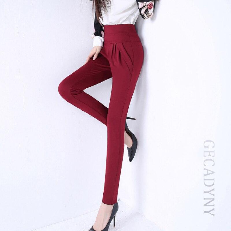 2018 Мода Женска Слим Еластиц Хигх - Женска одећа
